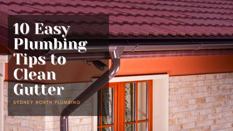 how to clean gutter
